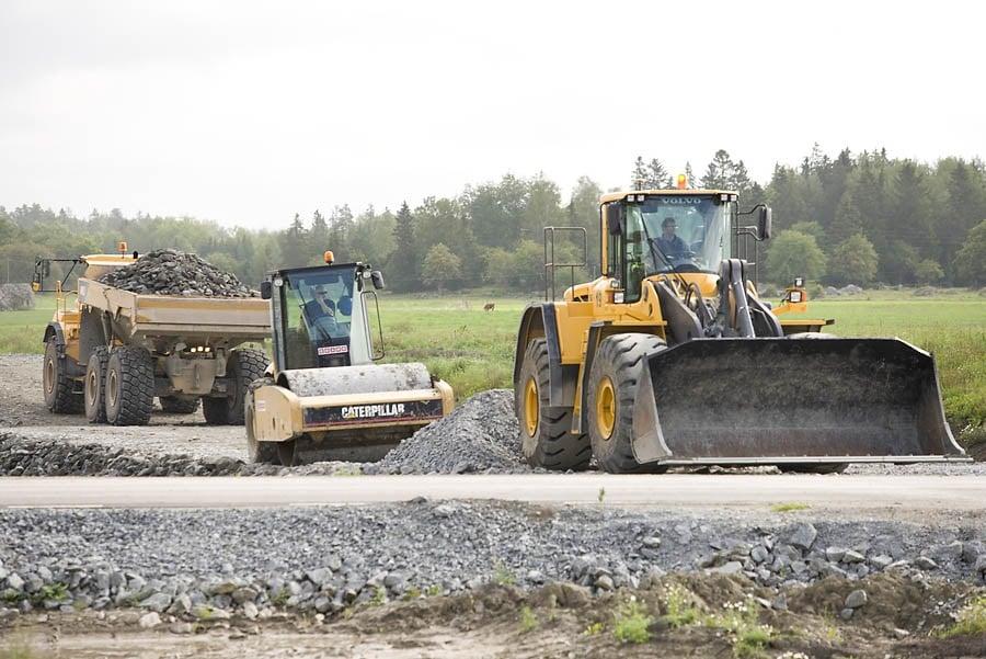 Geha Laverman SSAB Construction de routes