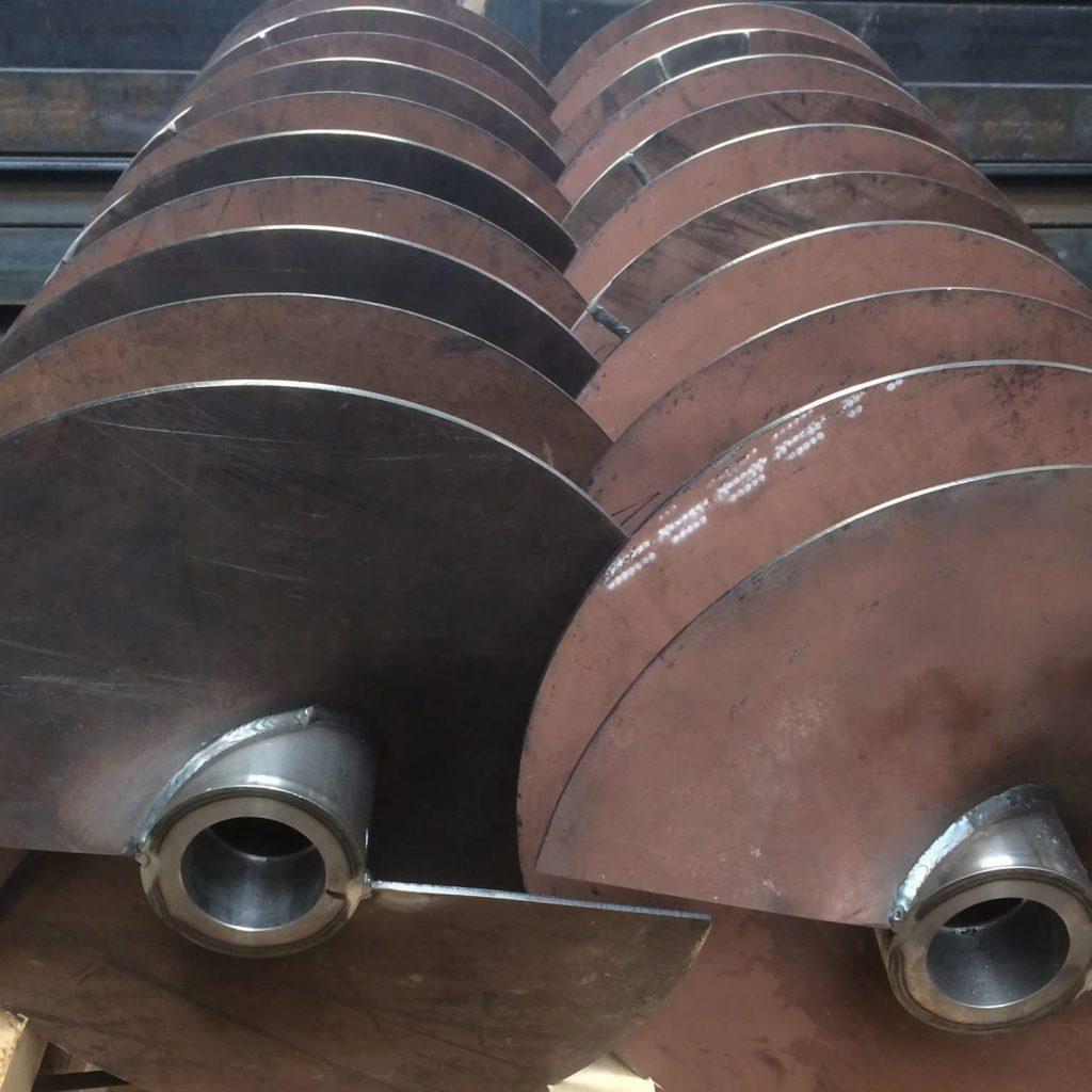 Geha-LAverman onderdelen voor schroeftransporteurs
